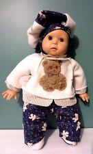 "Rare NEW in Box Vintage 19"" Three Pound GOTZ  Boy Doll w/ Hat - Made in Germany"