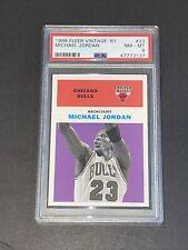 1998 Fleer Tradition Vintage '61 #23 PSA 8 Michael Jordan