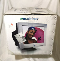 "2006 NOS eMachines EView 17"" CRT 17F3 Computer Gaming Monitor"