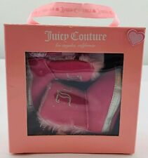 NWT New Juicy Couture Size 1 Pink Booties Winter Boots FREE SHIPPING