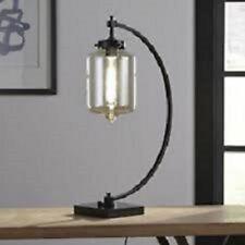 New Uttermost Bronze Metal LED Table Lamp