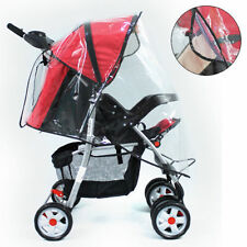 EXTRA STRONG UNIVERSAL BABY PRAM PUSHCHAIR STROLLER RAIN COVER BABY BUGGY COVER