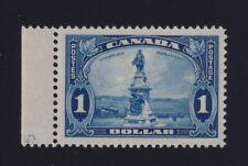 "Canada Sc #227 (1935) $1 blue Champlain Monument ""5"" Imprint Mint VF NH"