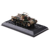 1/72 Diecast Tank Japanese Type 97 Chi-Ha 1941 Military Model Toys Soldier