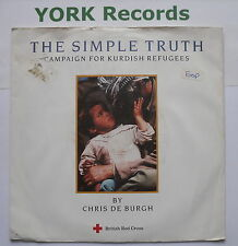 "CHRIS DE BURGH - The Simple Truth - Excellent Condition 7"" Single A&M REFL 1"