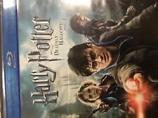 Harry Potter and the Deathly Hallows Part 2 Blu Ray DVD