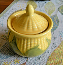 VTG SHAWNEE KING CORN Sugar Bowl with LID Excellent Cond.