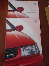 VW Polo GTi brochure Oct 1998 German text + price list