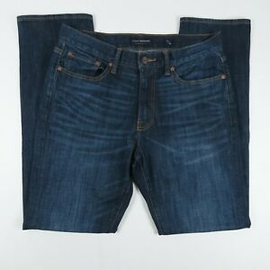 Lucky Brand Mens Jeans Size 32x32 410 Athletic Fit Dark Wash Blue Denim