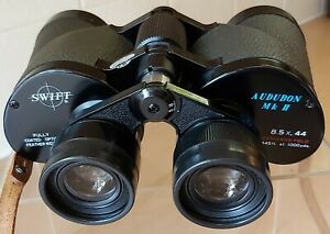 Swift 8.5x44 Audubon MkII Binoculars,  Japan, Minty