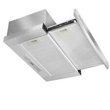 Sliding 90cm Rangehood  Grade A Stainless Steel Twin Motors  Quality Filters