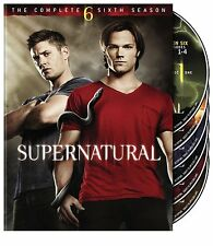 SUPERNATURAL: SEASON 6 DVD - THE COMPLETE SIXTH SEASON [6 DISCS] - NEW