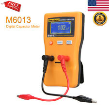 Larger Range Digital LCD Capacitance Capacitor Meter Tester Measure Tool mF uF