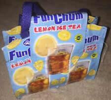 Recycled Hand Bag - Fun Chum Lemon Ice Tea