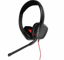 Plantronics Gamecom 318 Gaming Headsets w/ Flip Boom Mic for Games & Chat on PC