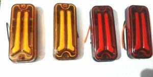 LED Light Front Or Rear Indicators Suzuki Gypsy Samurai SJ410 SJ413 (2 Set)