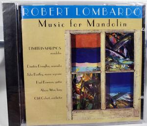 Robert Lombardo: Music for Mandolin CD 2003 New in Wrap