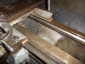 """Colchester Triumph 2000 / Clausing Colchester 15"""" Lathe Bed Way Wipers"""