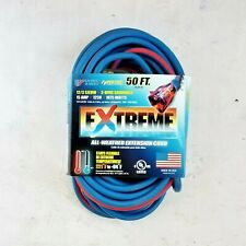 50' 12 Gauge Cold Weather Extension Cord w Lighted Outlet - MADE IN USA