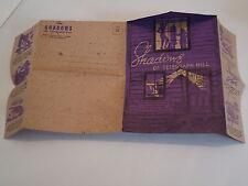 Shadows Of Telegraph Hill Restaurant Brochure Menu Folder Mailer San Francisco