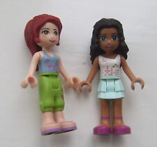 LEGO FRIENDS: MIA and CHLOE (rare!)