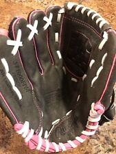 """Rawlings Storm 10"""" Youth Fastpitch Softball Glove: Bat - Left Hand Thrower"""