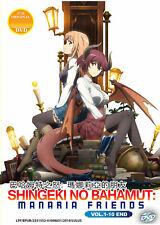 Shingeki no Bahamut [Rage of Bahamut] Manaria Friends DVD 1-10 USseller ShipFAST