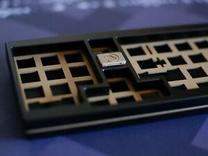 "Cannon Keys Clarabelle - Aluminum/Brass Southpaw ""1400"" Mechanical Keyboard Kit"