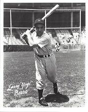 YOGI BERRA 8X10 PHOTO NEW YORK YANKEES NY BASEBALL MLB PICTURE WITH BAT B/W