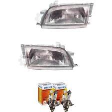 Halogen Scheinwerfer Set für Toyota Carina E 5.92-7.95 H4 ohne Motor