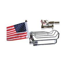 """Pro Pad USA 6"""" x 9"""" Flag and Mount for Harley Air Wing Tour Pak Rack RFM-RDVM"""