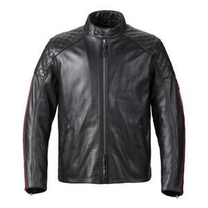 Triumph Motorcycle Men's Braddan Sport Leather Jacket