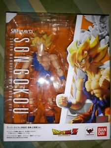 Sh Figuarts Son Goku awakening Bandai neuf
