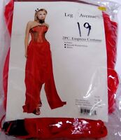 Red Empress Size Small Gown Halloween Costume Rubies Trick Or Treat Theater