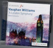 VAUGHAN WILLIAMS: A LONDON SYMPHONY & OBOE CONCERTO / OWAIN ARWELL HUGHES - CD