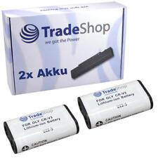 2x AKKU für Pentax Optio 33-L K-100-D K-110-D DB-100 DB-200