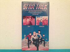 Star trek animated series Volume 9 VHS tape & sleeve SEALED
