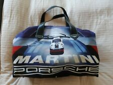 Vintage Limited Edition Porsche Martini Racing Collection Leisure Duffel Bag