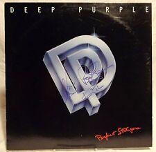 Deep Purple group Signed Autographed Album B