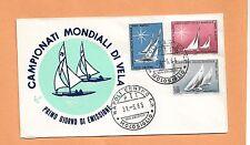 CHAMPIONATI MONDIALI DI VELA 1965   NAPOLI  ITALY FDC >
