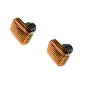 P38 Range Rover Discovery 1 Amber Side Marker Repeater Light Set Allmakes 4x4