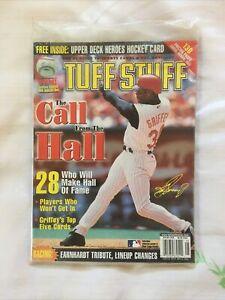 New In Wrapper May 2001 Tuff Stuff Sports Magazine