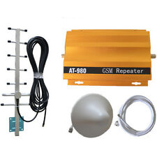 AT980 GSM Signal Booster Repeater Cell Phone Signal Amplifier with Power Ad