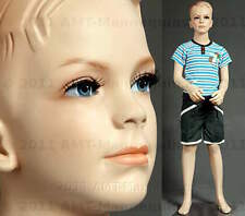 Child Male Mannequin standing boy, handmade maniquin, display manikin - Ted