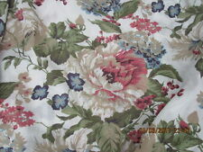 Twin Floral Bed Skirt French Country Chic Continuous Corners Unbranded