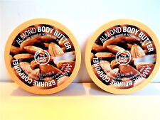 The Body Shop ALMOND BODY BUTTER 6.75 oz/192 g, NEW x 2