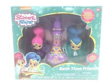 Shimmer and Shine Bath Time Friends Gift Set 2 Squirter Body Wash Jeannie Bottle
