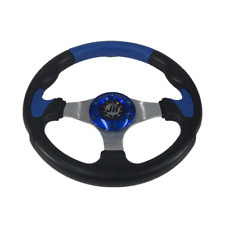 GOLF CAR SPORTS STEERING WHEEL & CONNECTION HUB.