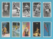 SPORTS  -  BROOKE  BOND  TEA  -  SET  OF  40  OLYMPIC  CHALLENGE  1992  CARDS