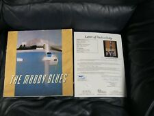 THE MOODY BLUES 1988 SUR LA MER Tour BOOK PROGRAM Autographed JSA Cert